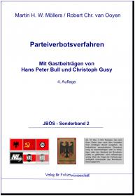 Parteiverbotsverfahren JBÖS - SB 2 4. Auflage