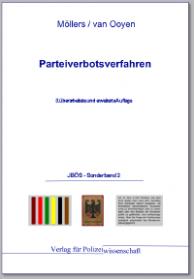 Parteiverbotsverfahren JBÖS - Sonderband 2 3. Aufl. 2011