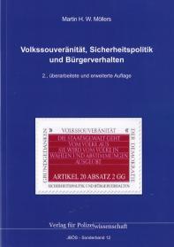 Volkssouveränität, Sicherheitspolitik und Bürgerverhalten JBÖS - Sonderband 12 2. Aufl. 2017