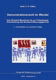 Demonstrationsrecht im Wandel JBÖS-Sonderband 16 2. Auflage 2017