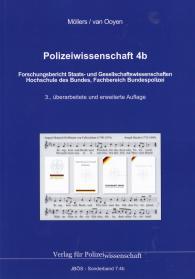 Polizeiwissenschaft 4b: Forschungsbericht Staats- und Gesellschaftswissenschaften JBÖS - Sonderband 7.4b 3. Aufl. 2017