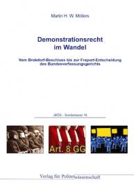 Demonstrationsrecht im Wandel JBÖS - Sonderband 16 1. Aufl. 2015